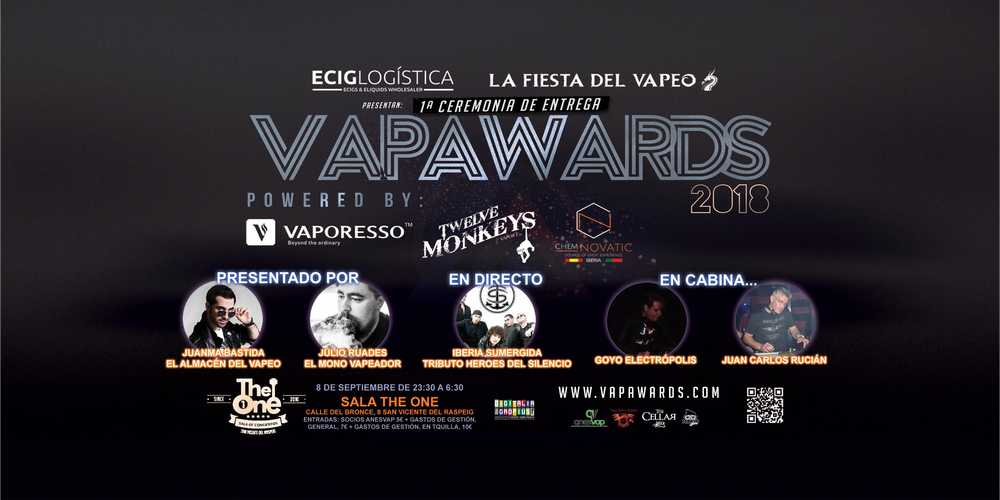 VAPAWARDS 2018