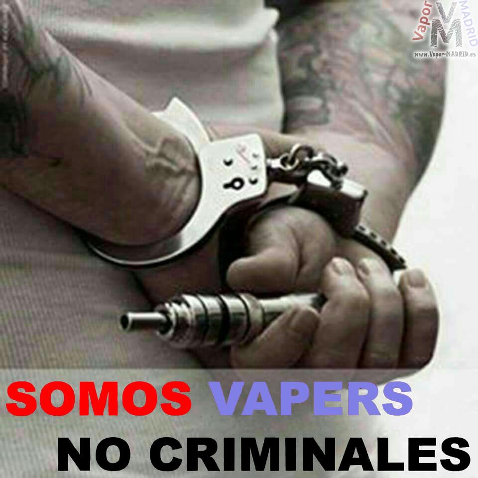 Somos Vapers, No criminales