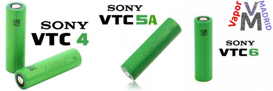 baterías VTC Sony