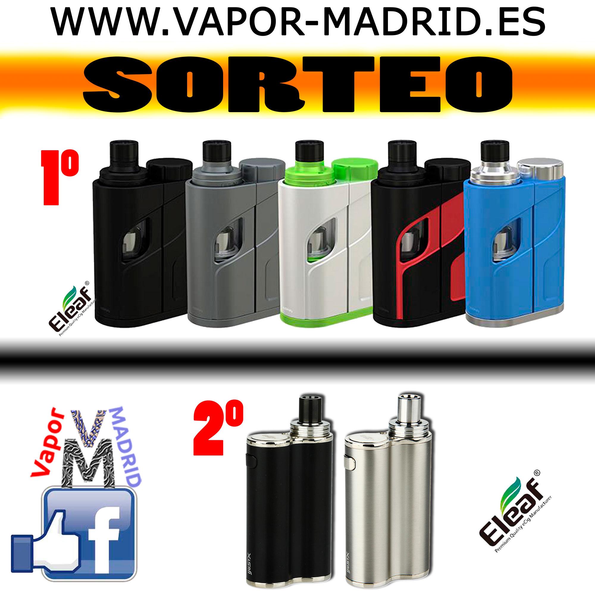 Sorteo Vapor-Madrid