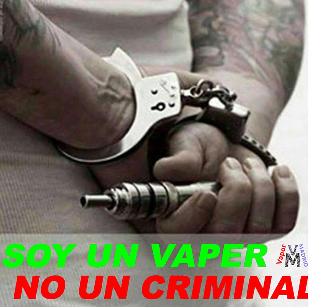 Soy Un vaper no un criminal